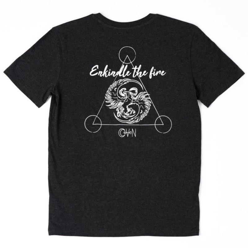 T-shirt CoVeN élément gris feu dos