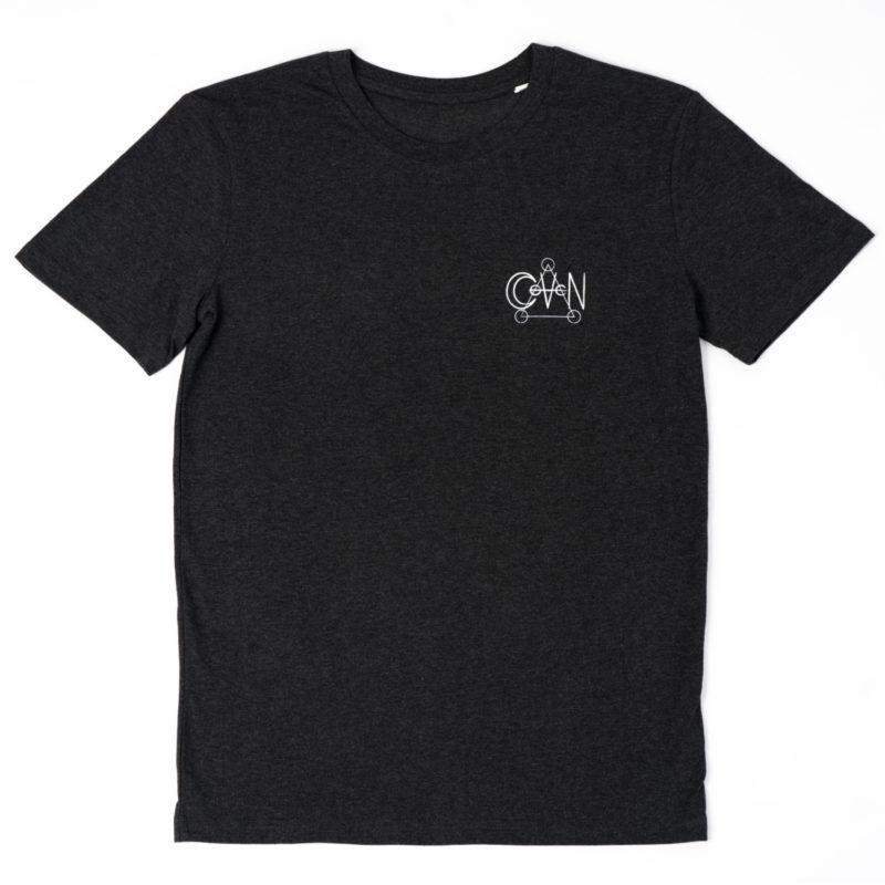 T-shirt CoVeN élément gris feu coeur
