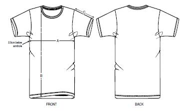 mesure t-shirt