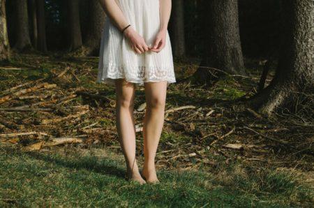 Robe d été dans les bois