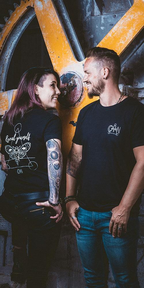 t-shirt grunge CoVeN