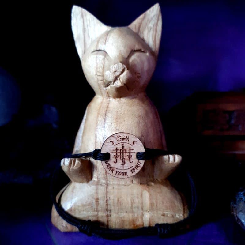 bijoux bois suisse avec sigil ancrage CoVeN