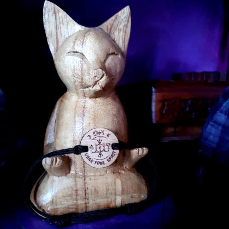 bijoux bois suisse avec sigil confiance en soi CoVeN