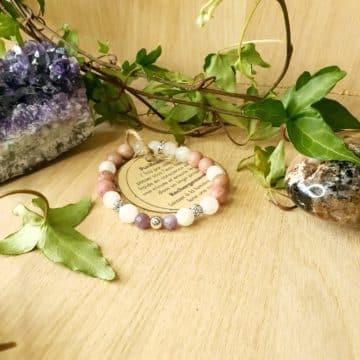 bracelet pierre lithotherapie sentiment